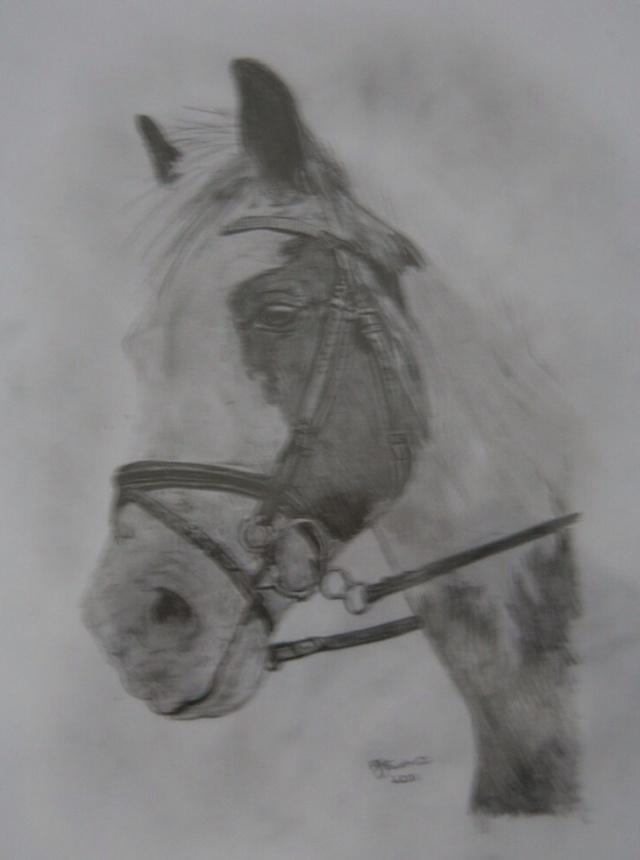 Struggles pencil sketch