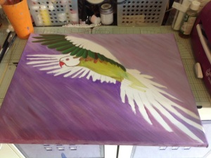 The escape parakeet oils