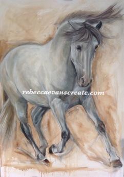 Tenor' oil painting 1mX70 cm