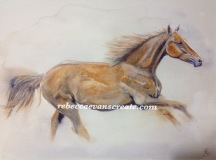 Lottie, watercolour A4 140lb cold press