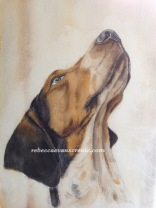 """'Babble' watercolour 9x12""""140lb coldpress 3rd stage"""