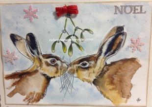 Hare design Christmas 2016