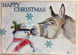 Donkey design Christmas 2016
