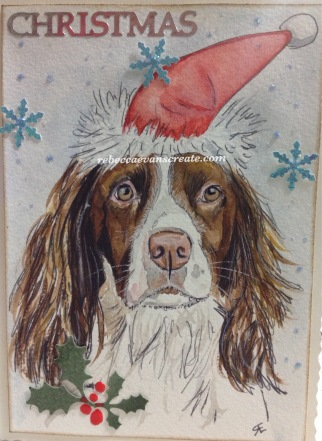 Spaniel design Christmas 2016