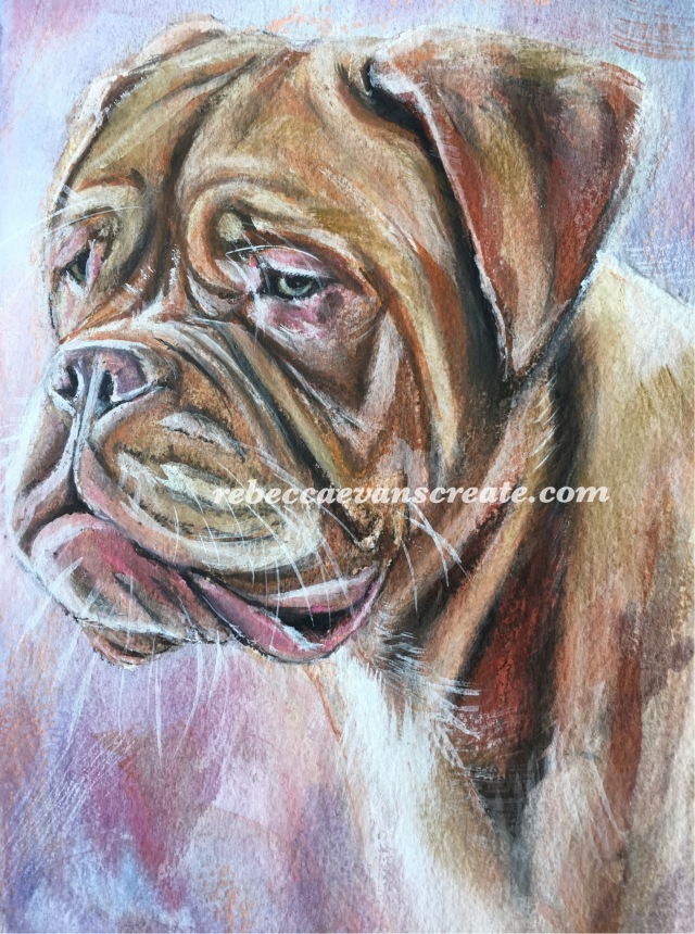 """'Look' watercolour and pastel 7x10"""" 140lb coldpress"""