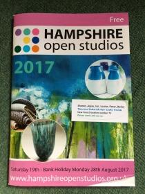 Hampshire open studio brochure 2017
