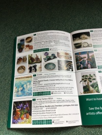 Hampshire open studio brochure 2017, Our page