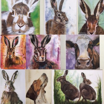 A selection of prints available