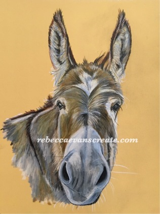 'Porridge'watercolour pencils on pastelmat board 170lb 18x24 cm