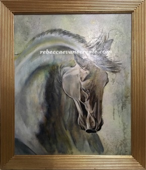 oil Painting horse
